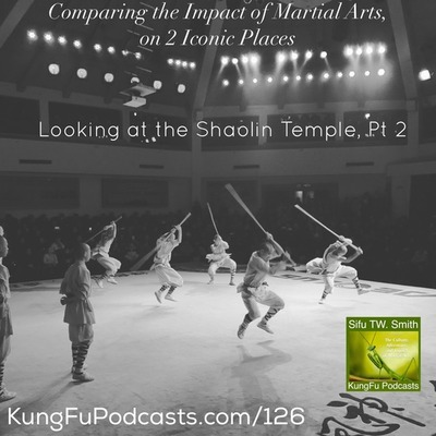 Comparing 2 Iconic Martial Arts Places : KFP 125 & 126