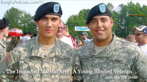 Impact of Martial Arts to Young Blinded Veteran