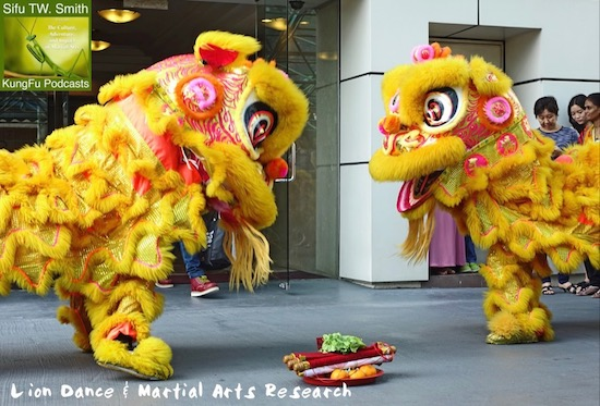 Lion Dance and Research Theory in Martial Arts