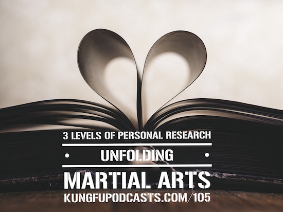 3 Level of Personal Research in Martial Arts