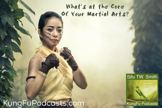 What is in the Core of Your Martial Arts? KFP 117