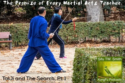 The Promise of Every Martial Arts Teacher  : Pt 1